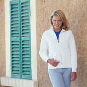Fruit of the Loom premium 70/30 lady-fit sweat jacket